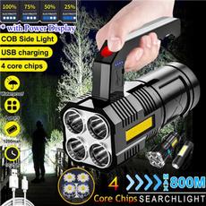 Flashlight, searchlight, led, usb