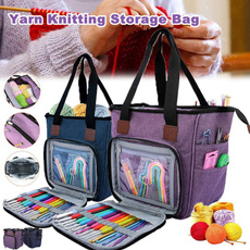 case, Knitting, Totes, sewingstorage