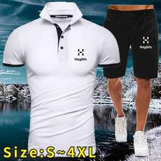 Summer, Shorts, mensslimshirt, Shirt