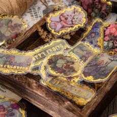 decoration, Materials, Stickers, handaccount