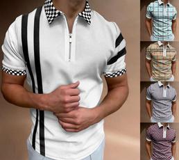 Summer, polo men, Polo Shirts, Sleeve