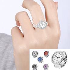 Moda masculina, Joyería de pavo reales, silverfingerring, quartz watch