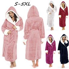 Bridesmaid, Fleece, hoodbathrobe, kimono