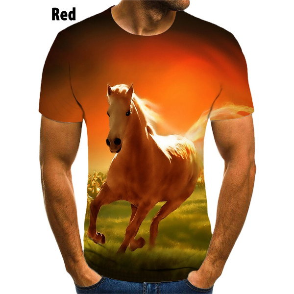 horse, Fashion, Shirt, Men's Shirt