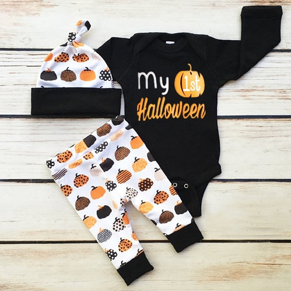 Clothes, letter print, babyboysclothingset, Halloween Costume