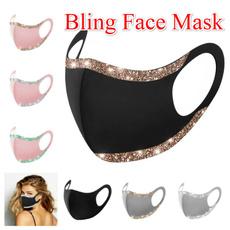 Bling, cotton-blend, Masks, blingmask