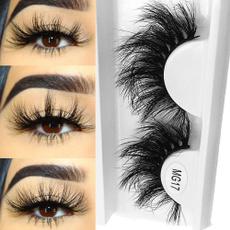 False Eyelashes, Natural, Multi-layer, fluffy
