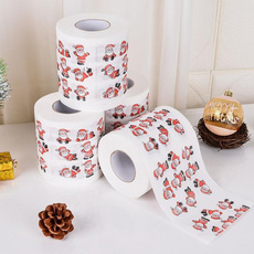 bathrollpaper, Unique, santaclaustoiletpaper, christmastoiletpaper