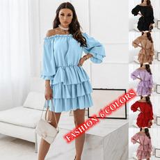 tunicdresse, loosedresse, Long Sleeve Dresses, Sleeve