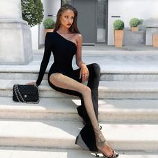 catwomancostume, clubwear, sexybodysuit, Long Sleeve