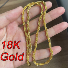 yellow gold, necklaces for men, Jewelry, Chain