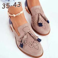 loafersforwomen, Flats & Oxfords, Tassels, Flats shoes