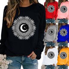 fashion women, Plus Size, Tops & Blouses, Graphic T-Shirt