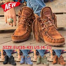 winterbootsforwomen, ankle boots, Tassels, Shorts