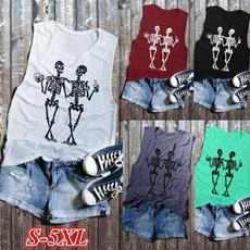 Women Vest, Vest, Plus Size, Halloween