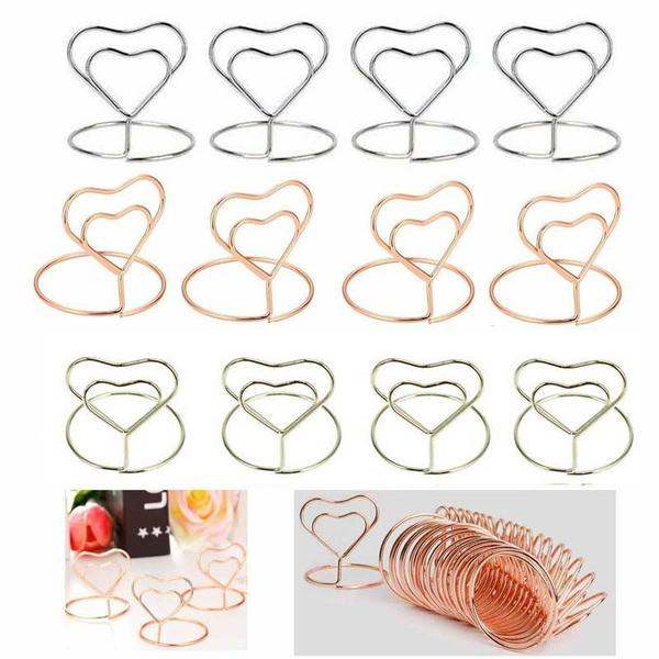 Heart, memocardholder, Restaurant, cardpaperclip