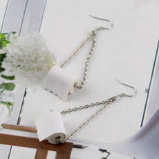 Sterling, polymer, Jewelry, Earring Cuff