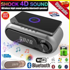 stereospeaker, led, Alarm Clock, Led Clock