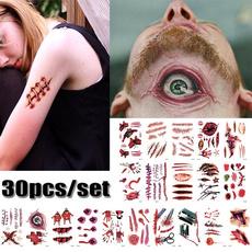 tattoossticker, Makeup, halloweenparty, halloweensticker