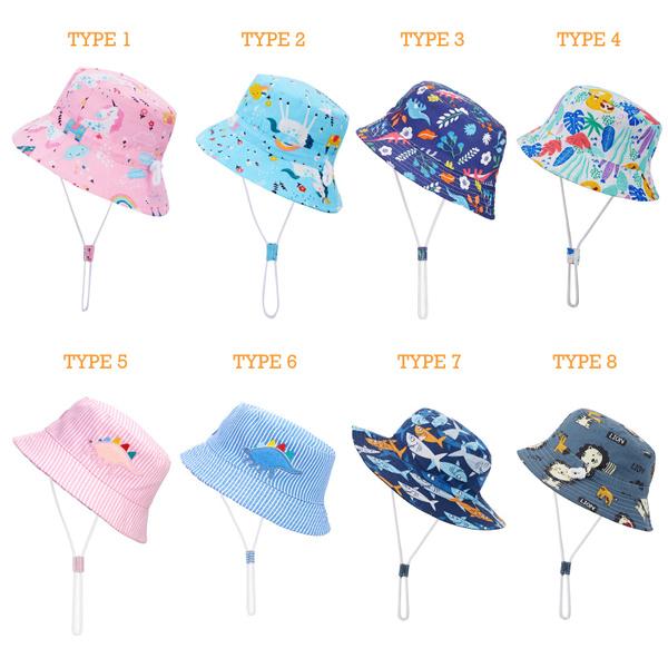 toddlerbuckethat, Cotton, Fashion, girlsbuckethat