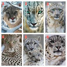 DIAMOND, Wall Art, Home Decor, Leopard