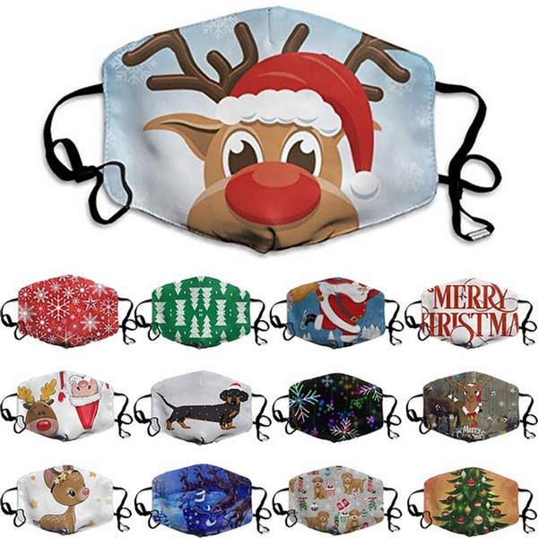washable, festivalmask, Christmas, unisex