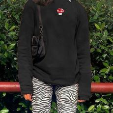 Fashion, womenslongsleevedsweater, loose sweater, pulloversweatshirttop