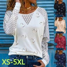 Plus Size, Love, Shirt, Sleeve