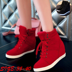 ankle boots, wedge, Sneakers, Fashion