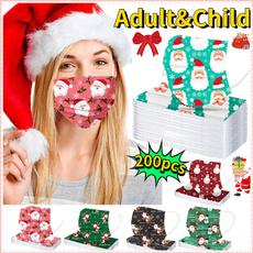 Children, festivalmask, Christmas, colormask