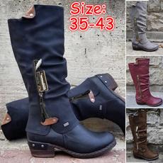 midcalfboot, Winter, long boots, Cowboy