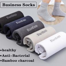 Men, whitesock, bamboosock, Breathable