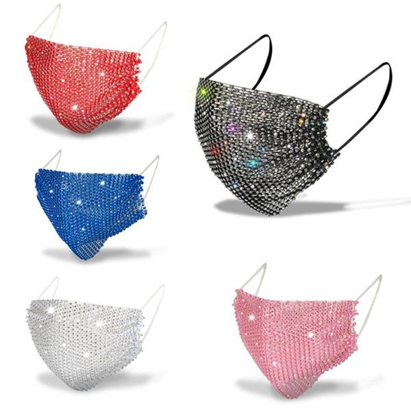 Women's Fashion, Bling, crystalmask, Masks