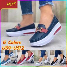 casual shoes, Beanie, Plus Size, Platform Shoes