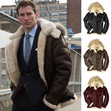 thickencoat, fur coat, Plus Size, hoodedjacket
