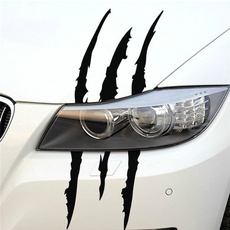 Car Sticker, MONSTER, carbeauty, stripeclaw