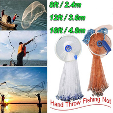 handthrow, foldablebaitcast, Sports & Outdoors, fishingnettool