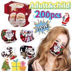 cartoonmask, mouthmask, Christmas, unisex