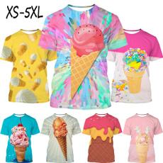icecreamprinttshirt, Fashion, icecreamtshirt, Summer