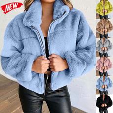 Casual Jackets, cardigan, fur, cardigan for women
