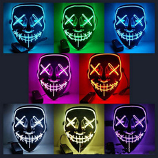 ghost, party, led, partymask