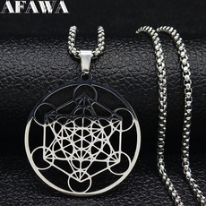 Steel, Flowers, Yoga, Jewelry