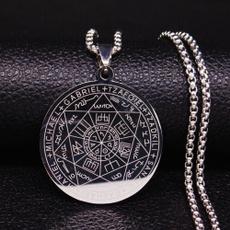 Steel, Men  Necklace, Jewelry, gold