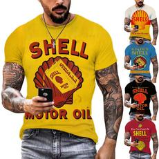 Shirts & Tops, Fashion, tshirt men, Sleeve