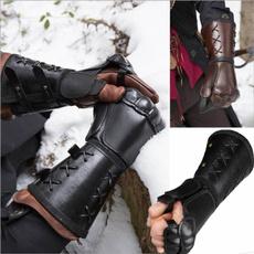 leatherwristlet, wristbrace, Men, Cosplay