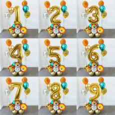 decoration, foilballoon, Animal, birthdayballoon
