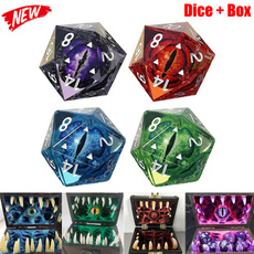 scary, monstertreasurechest, Dice, Crystal