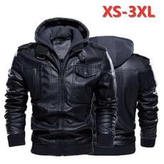 windproofjacket, pujacket, Winter, leather