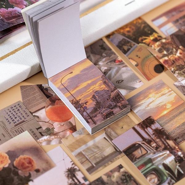 Scrapbooking, labelsticker, Vintage, Journal