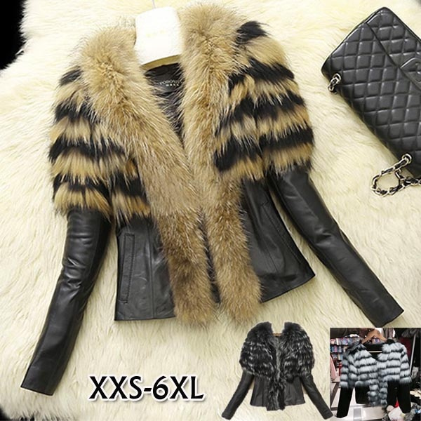 fur coat, Plus Size, leatherjacketforwomen, faux leather